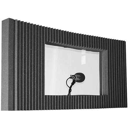 Auralex MAX-Wall Window Kit - (Charcoal Gray)