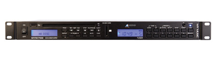 Australian Monitor Rackmount AM/FM Tuner CD/MP3