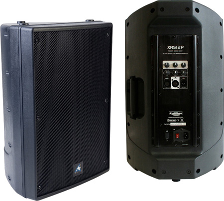 Australian Monitor XRS12P 12in Bi-Amped Active Portable Loudspeaker