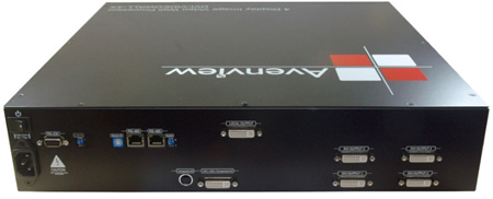 Avenview DVI-VIDEOWALL-4X 4X Display Dual-Image Video Wall Processor