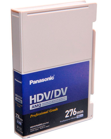 Panasonic AMQ Series Large DV Tape 276 Minute