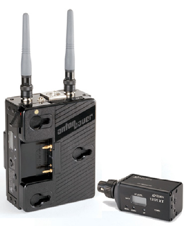 Azden 1201ABX UHF Body-Pack System with 1201XT Plug-in XLR Transmitter