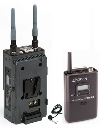 Azden 1201VMT UHF Body-Pack System with EX-503H Mic