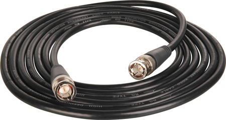 TecNec B-B-15 Premium HD BNC Male to Male Molded Video Cable 15Ft