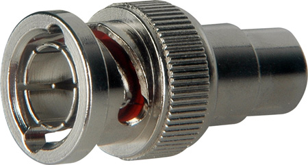 TecNec B-PF RCA Female to 75 Ohm BNC Male Adapter - BNC-RCA