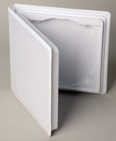 2 CD/DVD Storage Case with Literature Holder
