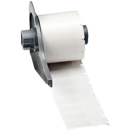 Brady M71-29-427 .5 x 1.5 Inch White Labels - Roll of 500