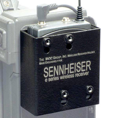 BEC-500 Wireless Mic Receiver Bracket for Sennheiser E Series