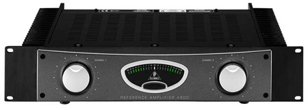 Behringer A500 500W Studio Reference Amplifier