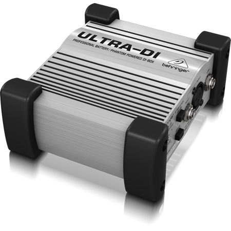 Behringer DI100 Ultra-Rugged DI Box for Stage and Studio