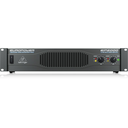 Behringer Europower 2000 Watt Power Amplifier
