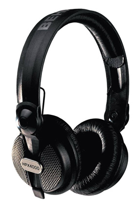 Behringer - HPX4000 Closed-Type High-Definition DJ Headphones