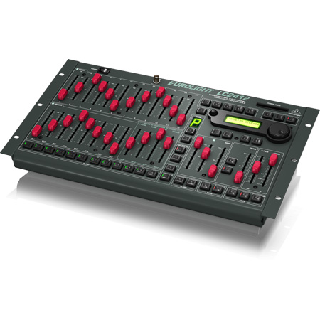 Behringer EuroLight LC2412 Professional 24-CH. DMX Lighting Console