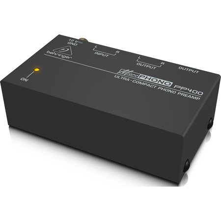 Behringer PP400 Ultra-Compact Phono Preamp