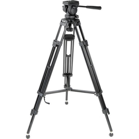 Bescor Lightweight Tripod System With Spreader and Bag