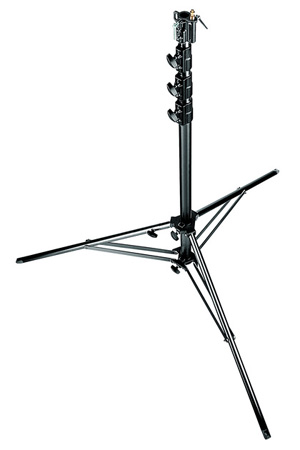 Manfrotto 269BU Black 14.9 ft. Super Alu Stand with Leveling Leg
