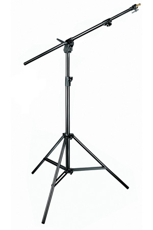 Manfrotto 420NSB Black Combi-Boom Stand / 3-Section Stand Without Sand Bag