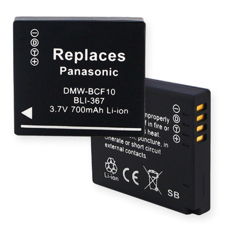 Replacement Battery for PANASONIC DMW-BCF10/10E
