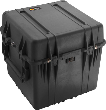 Pelican 0350 Cube Case without Foam (Black)