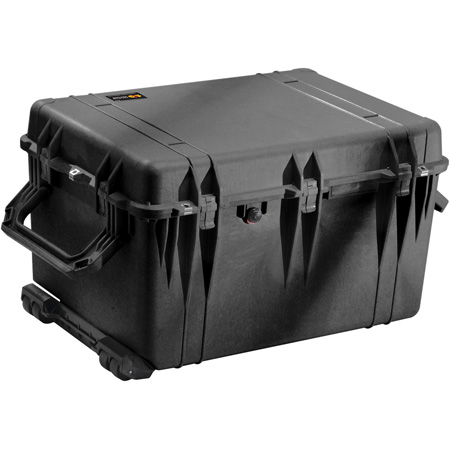 Pelican 1660 Case - Heavy Duty Quad Wheels No Foam