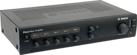 BOSCH PLE-1ME60-US 60-Watt Economy Mixer Amplifier