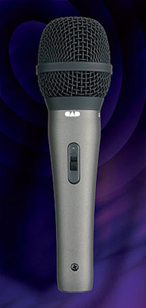 CAD CAD25A Supercardioid Dynamic Handheld Mic With ON-OFF Switch