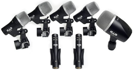 CAD Audio Stage7 7-piece Drum Microphone Pack