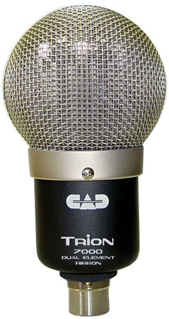 CAD Trion 7000 Dual Element Ribbon Mic