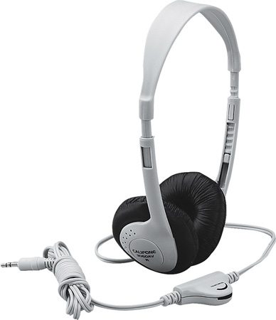 Califone - Multimedia Stereo Headphones (Blue)