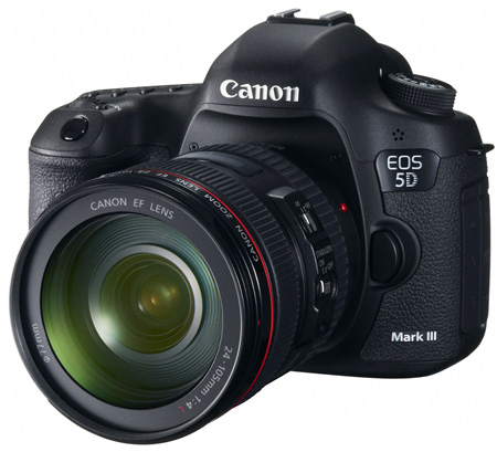 Canon EOS 5D Mark III EF 24-105mm IS DSLR Camera Kit