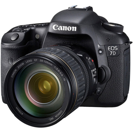 Canon EOS 7D SLR Digital Camera with EF 28-135mm f/3.5-5.6 IS USM Lens