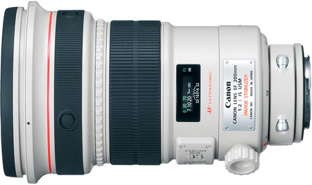 Canon 2297B002 EF 200mm f/2L IS USM Lens