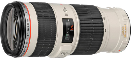 Canon EF 70-200mm f/4L IS USM Autofocus Lens