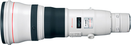 Canon 2746B002 EF 800mm f/5.6L IS USM Lens
