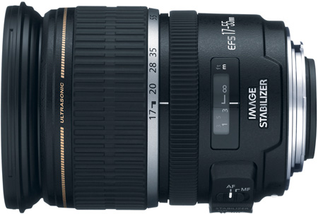 Canon 1242B002 EF-S 17–55mm f/2.8 IS USM Lens