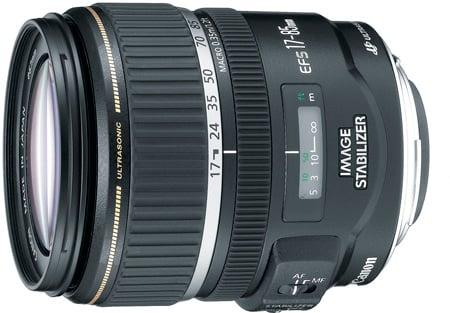 Canon 9517A002 EF-S 17–85mm f/4–5.6 IS USM Lens