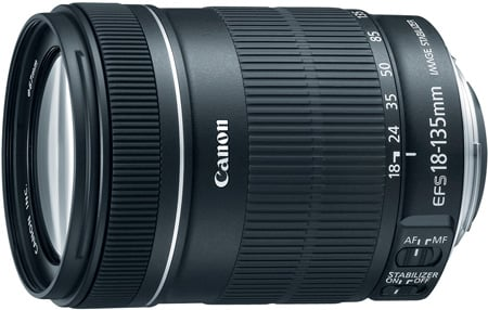 Canon 3558B002 EF-S 18–135mm f/3.5–5.6 IS Lens