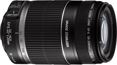 Canon EF-S 55-250mm f/4-5.6 IS Standard Zoom Lens