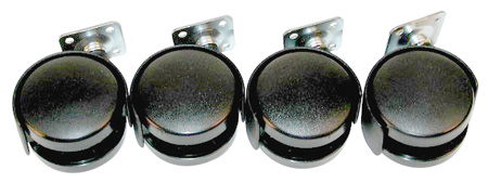 Raxxess Casters for ER and ERK Series Racks Set of 4