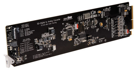 Cobalt 9015 Dual Monitoring Converter SDI to Analog Composite with Reclocked SDI