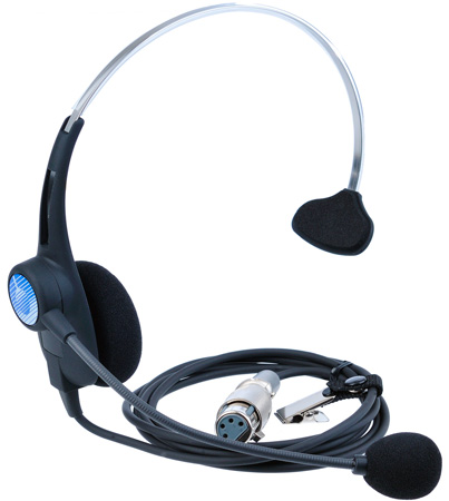 Clear-Com CC-26K-X5 Single ear light headset XLR-5M