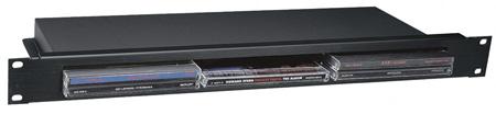 Middle Atlantic CD-1 Rackmount CD Jewel Case Shelf