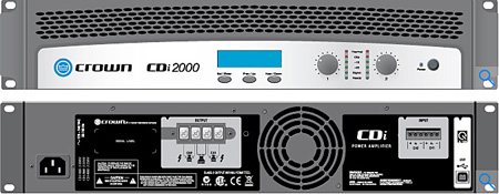 Crown CDI-2000 Power Amplifier