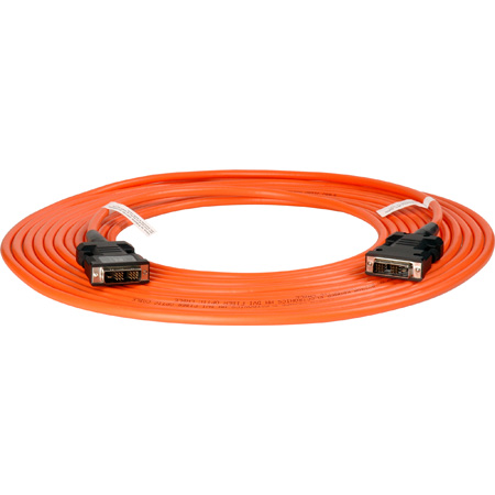 Kramer C-FODM/FODM-164 Fiber Optic DVI Extension Cable- 164ft