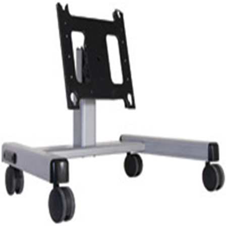Chief PFQUS Large Confidence Monitor Cart 2 Ft. - Silver