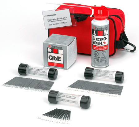Chemtronics CFK1000 Fiber Optics Cleaning Kit