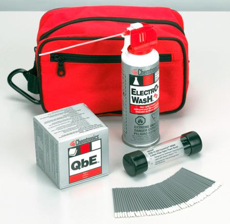 Chemtronics CFK1010 I & M Fiber Optic Cleaning Kit