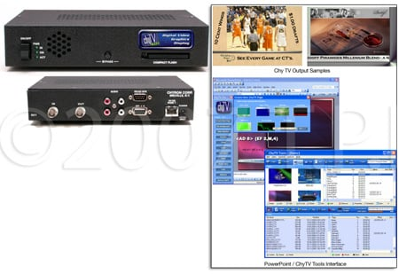 Chyron ChyTV SDI Digital Video Graphics Display (NTSC)