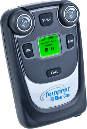 Clear-Com CP-222 Tempest2400 2-Channel Beltstation