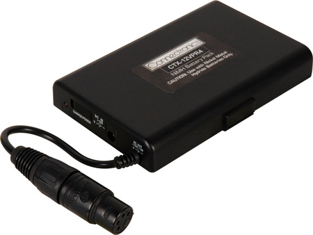 12VDC NiMh 2.5 AMP Hour Battery Pack with 4 Pin XLR Plug